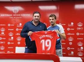 Juan Muñiz confía en hacer grandes cosas en su nuevo club. NasticTarragona