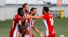 El Almería venció al Rayo Vallecano. LaLiga