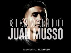 Juan Musso rejoint Udinese. Twitter/Udinese