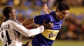Del Bosque confesó que Riquelme pudo haber jugado en el Madrid. AFP