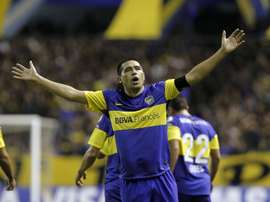 Juan Román Riquelme, en su etapa como jugador de Boca Juniors. EFE