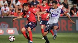 Juande es una de las piezas clave del Perth Glory. PerthGlory