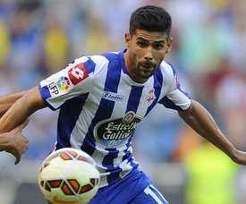 Juanfran instó a Cavaleiro a regresar al conjunto gallego. AFP