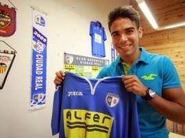 Juanfri ya jugó una temporada en el Ciudad Real. Twitter
