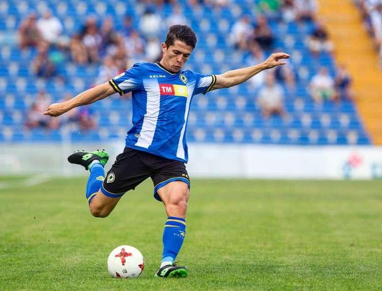 Juanjo Nieto destacó el buen partido del equipo. Twitter/JuuanjoNiieto