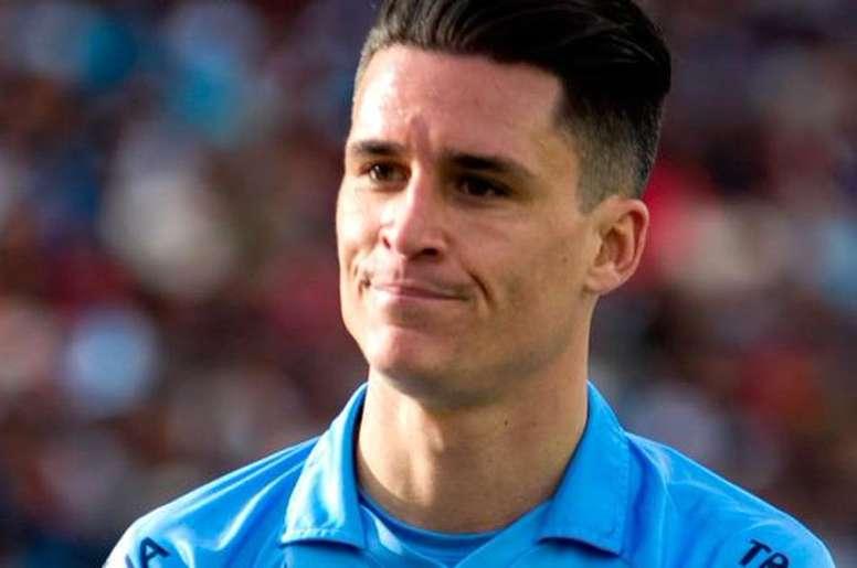 Juanmi Callejón se ha convertido en una referencia de Club Bolívar. Twitter/Bolivar_Oficial
