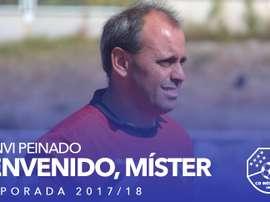 Juanvi Peinado, nuevo entrenador del Móstoles. CDMóstoles