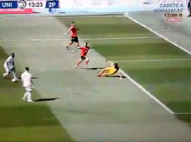 Grande lance, mas sem o gol. Captura/RealMadridTV