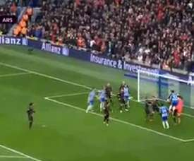Gol do Brighton. Captura