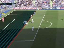 Jogr Molina a égalisé face à Madrid. BeInSports