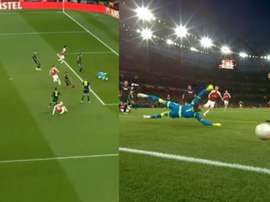 Ramsey's opener set the ball in motion for Arsenal. Captura