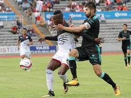 Lobos consiguió ganar a Veracruz. LosbosBUAPOficial