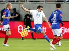 El Molde tuvo que remontar el resultado de la ida. Molde_FK
