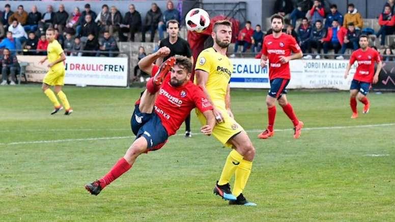 El Villarreal B confía en seguir la buena línea ante el complicado Barça B. VillarrealCF