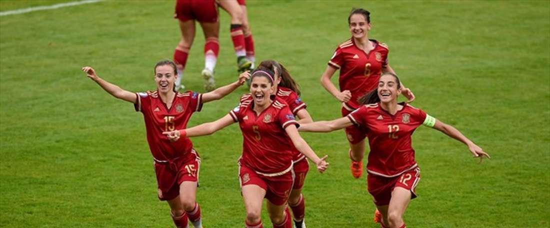España se ha impuesto a Alemania y alcanza las semifinales del Mundial de Jordania. UEFA