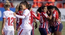 El Sevilla impulsó a la zona Champions a las de Sánchez Vera. EFE