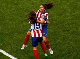 El Atlético Féminas ya es líder, de manera provisional, de Primera. ClubAtleticoDeMadrid