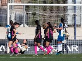 El Madrid CFF coge aire matando al Espanyol. @RCDEFemeni