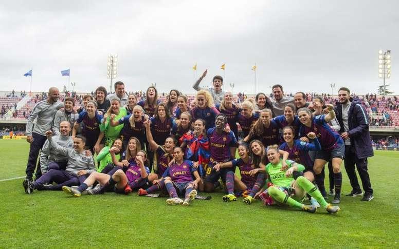 El Barcelona Femenino disputará la final de la Champions League. Twitter/FCBfemeni