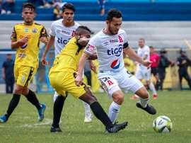 Alianza sigue imparable y Santa Tecla sigue a la caza del segundo. Twitter/AlianzaFC_SV