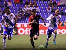 Puebla y Atlas marcaron un gol cada uno y se quedaron con un punto. AtlasFC