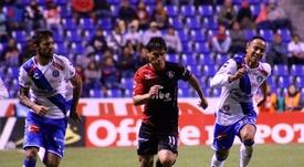 Los 'zorros' consiguieron llevarse la victoria en el minuto 42. AtlasFC