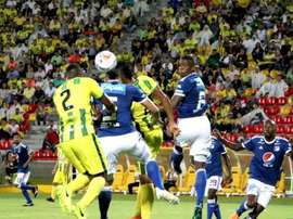 Atlético Bucaramanga se quedó a un gol del empate. Twitter/AtleticoBucaramanga