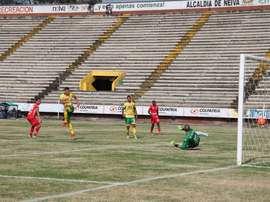 Los 'opitas' empezaron su camino en el Apertura con un empate. AtléticoHuila