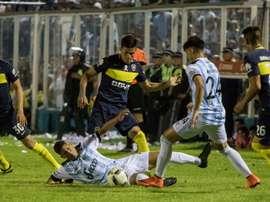 Atlético Tucumán impuso un alto ritmo de partido y se llevó un punto. BocaJrsOficial