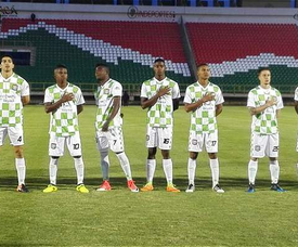 Boyacá Chicó desciende de la máxima división del fútbol colombiano. BChicoOficial