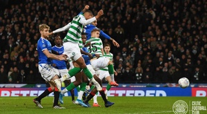 El 'Old Firm' fue, una vez más, para el Celtic. Twitter/CelticFC