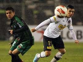 El Tanque Sisley jugó la Sudamericana en 2013. EFE