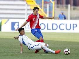 Costa Rica consiguió el pase tras empatar ante Panamá. EFE