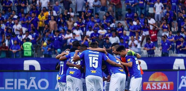 Deivid completa trinca no Cruzeiro.  Twitter/Cruzeiro