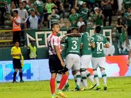 El conjunto 'azucarero' se llevó el partido de forma cómoda. DeportivoCali
