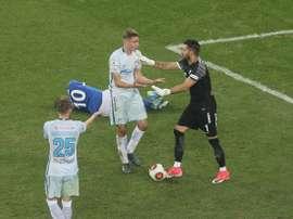 El partido se decidió en la prórroga. Zenit