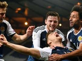 Os escoceses são quem está em melhor posição para garantir a 2ª posição. Twitter/ScottishFA