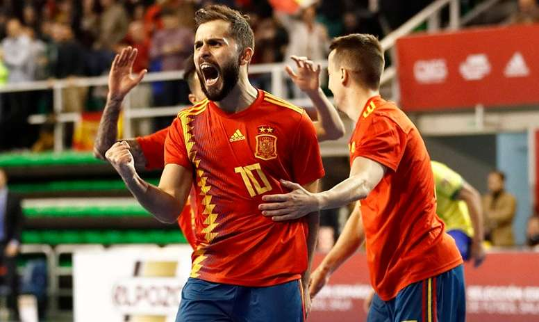 España ya está en la próxima ronda. SeFutbol/Archivo