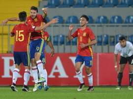 El combinado nacional prepara la clasificación para el Mundial. UEFA