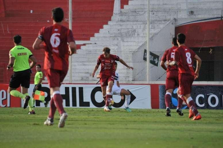 El padre de un jugador murió en el estadio. CopaArgentina