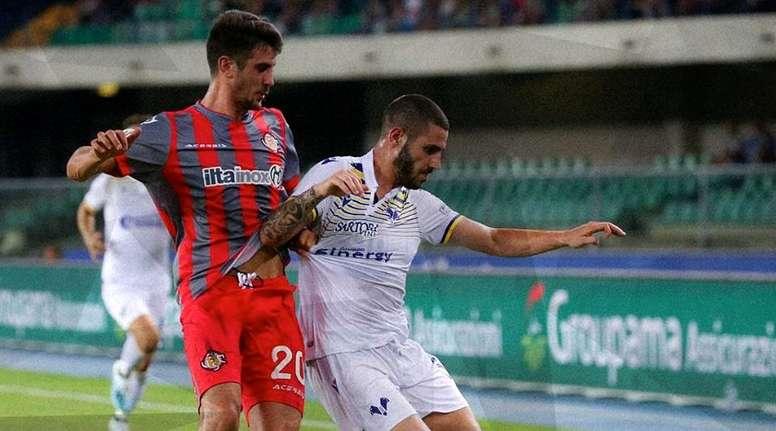 Brescia y Hellas Verona se despiden de la Coppa. HellasVerona