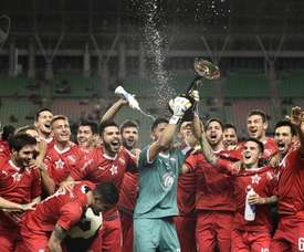 Independiente fue campeón. Twitter/Independiente