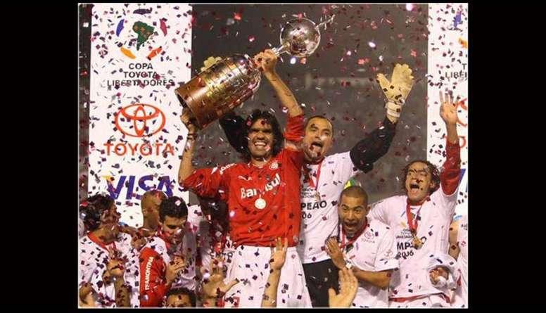 Empate no Beira-Rio deu ao Inter seu primeiro título no torneio continental. EFE