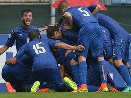 Italia se impuso por 1-2 a Inglaterra en una de las semifinales. UEFA