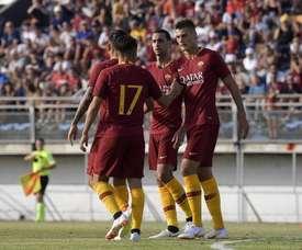 La Roma, pese a contar con sus estrellas, no pudo ganar ante un Serie B. ASRoma