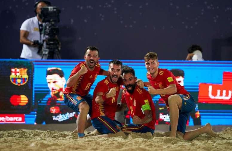 España pasa a la final tras vencer a Rusia. SeFutbol