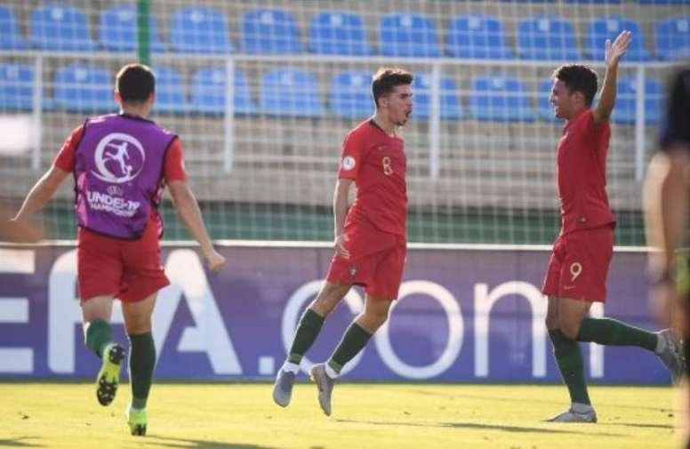 Portugal ya está en la final del Europeo Sub 19. FPF