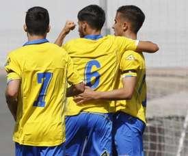 Las Palmas Atlético logró un triunfo por la mínima. UDLP