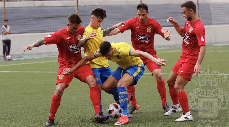 El primer filial de Las Palmas recibe al Castilla. Twitter/UDLP_Cantera