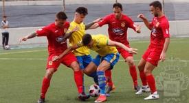 Los madrileños se impusieron por 0-1. Twitter/UDLP_Cantera